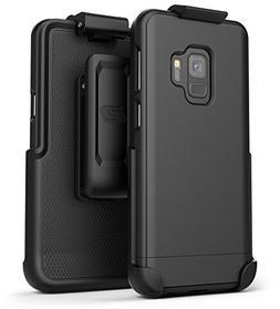 Encased Galaxy J8 Belt Clip Case, Ultra Slim Protective Hard