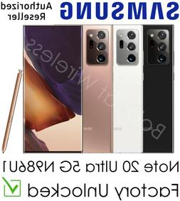 Samsung Galaxy Note 20 Ultra 5G N986U White Bronze Black for