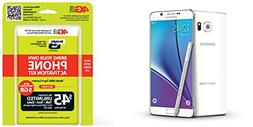 Straight Talk Galaxy Note 5 32GB White on Verizon 4G LTE