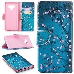 Galaxy Note 9 Case, Note 9 Case Wallet, iYCK Premium PU Leat