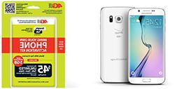"Galaxy S6 Edge Straight Talk 32GB White ""Verizon Towers""."