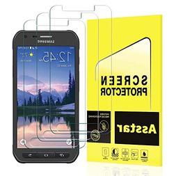 Galaxy S7 Active Screen Protector, Asstar 9H Hardness 2.5D