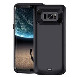 Galaxy S8 Battery Case, 5000 mAh Slim Portable Rechargeable