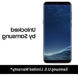 Samsung Galaxy S8+ Unlocked 64GB  -  Midnight Black