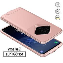 Galaxy S9 Plus Battery Case, REDGO 5200mAh Ultra Slim Portab
