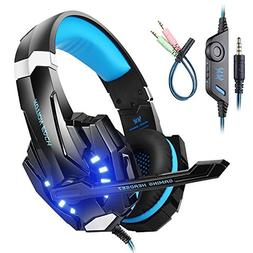 Mengshen Gaming Headset for PS4/ Xbox one/Xbox One S/PC/Mac/