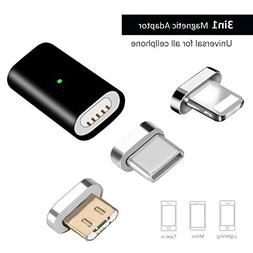 Kript 5th Generation 3 in 1 Magnetic USB Adapter Charging &