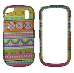 Green Circles Tribal Pantech Hotshot 8992  Case Cover Hard P