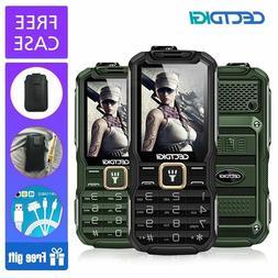 GSM Mobile Cell Phone Dual SIM Shockproof Radio 15800mAh Pow