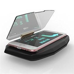 I-Sonite Head up Display Projector Universal Car HUD Holder