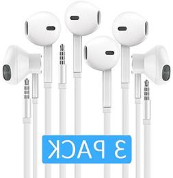 Headphones with Microphone, Certified PowerBoost In-Ear 3.5m