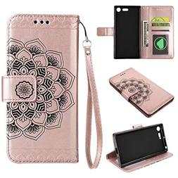 HHF Phone Accessories for Sony Xperia XZ Premium, Embossed H