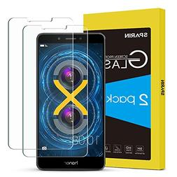 Honor 6X Screen Protector, SPARIN Tempered Glass Screen Pro