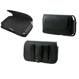 Horizontal PU Leather Carrying Phone Case Side Pouch Sleeve