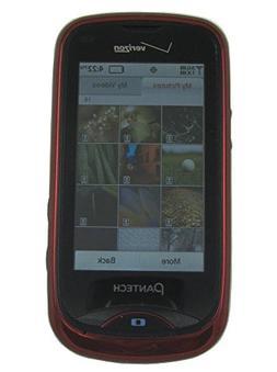 Pantech Hotshot 3G Used Cell Phone Red Verizon