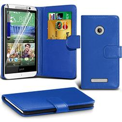 HTC Desire 510 BookStyle PU Leather Wallet Flip With 2 Cred