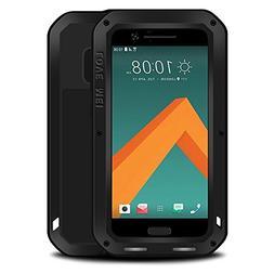 HTC M10 case,Feitenn Extreme Hybrid Armor case Alloy Aluminu