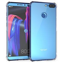Huawei Honor 9 Lite Case, Caseflex Crystal Clear Transparent