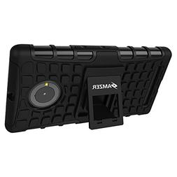 Amzer Impact Resistant Hybrid Warrior Case with Kickstand fo