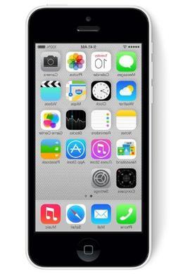 Apple iPhone 5C Factory Unlocked Cellphone, 8GB, White