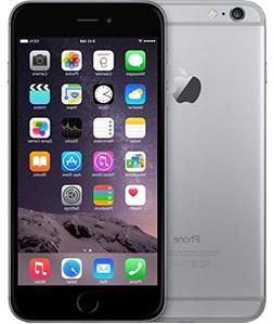 Apple iPhone 6 Plus, Space Gray, 16 GB
