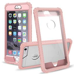 iPhone 6 Plus Case, iPhone 6S Plus Case,UZER ShockProof Tran