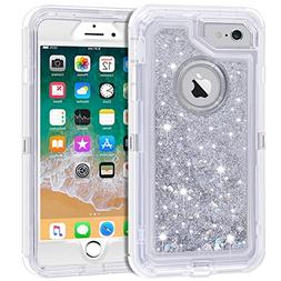 iPhone 6S Plus Case, iPhone 6 Plus Case, Anuck 3 in 1 Hybrid
