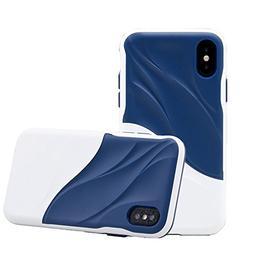LENKA iPhone 7 Plus Case, Slim-Fit Matte TPU Soft Rubber Sil