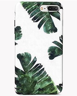 J.west iPhone 7 Plus Case iPhone 8 Plus Case, Palm Leaves Pa