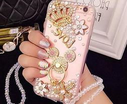 iPhone 7 Plus Diamond Case, iPhone 7 Plus Crystal Rhinestone