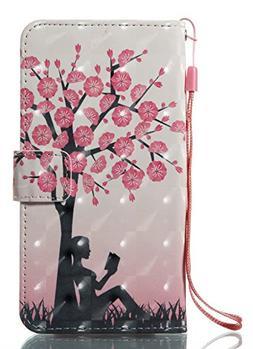 iPhone X Case,PU Leather Folio Flip Wallet Case Magnetic Cas