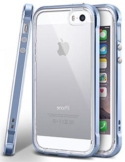 iPhone SE Case, Ansiwee Reinforced PC Frame & Highly Durable