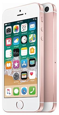 Apple iPhone SE 64GB Unlocked Smartphone, GSM Only , Rose Go
