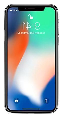 "Apple iPhone X, Fully Unlocked 5.8"", 64 GB - Silver"