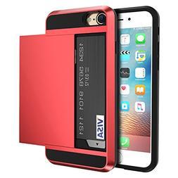 vovmi iPhone8 7 6 Plus 5 5S SE Credit Card Back Samsung Gala