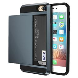 vovmi iPhone8 7 6 Plus 5 5S SE Credit Card Samsung Galaxy S8