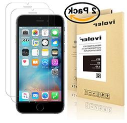ivoler  for iPhone 6/6S  Screen Protector,  with Lifetime Re