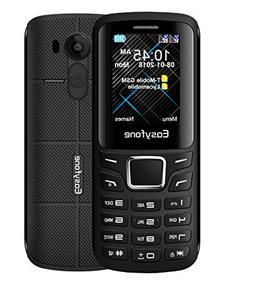 Easyfone Joy-X Dual-SIM 2G Unlocked GSM Cell Phone, VGA-Came