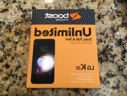k30 32gb black boost mobile nib