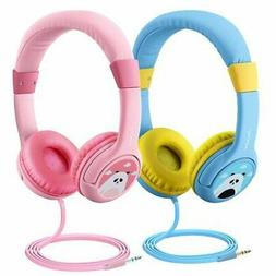 Mpow Kids Childs Boys Girls DJ Headphones for Cell Phones Ta