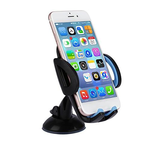 LESHP 3-in-1 Phone Cell Phone Vent Holder Windshield Mount 6 6S SE and