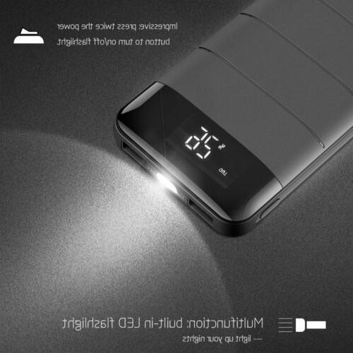 100000mAh Battery USB External Charger Power Phone