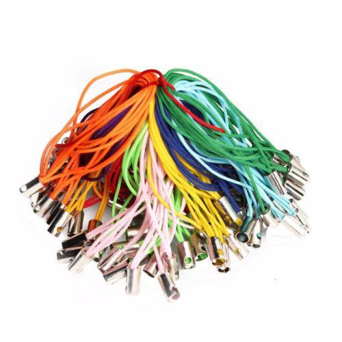 100pcs Phone Cords Lariat