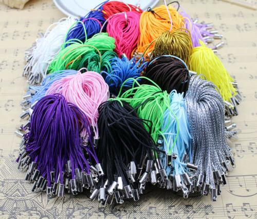 100pcs 20 color cell phone lanyard cords