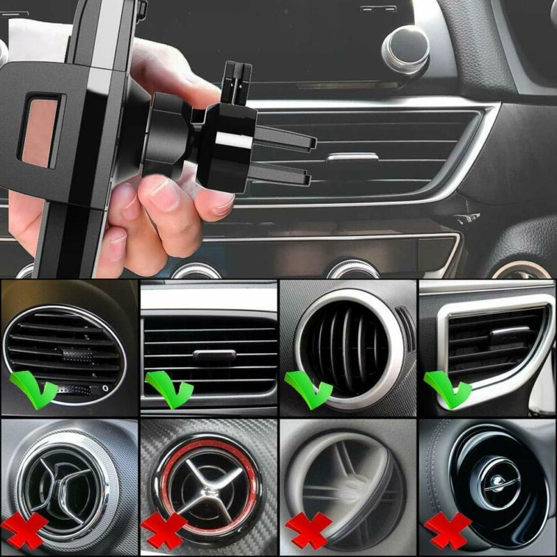 10W Car Air Vent Phone Holder Mobile Compatible