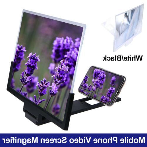 14 inch phone screen magnifier 3d video