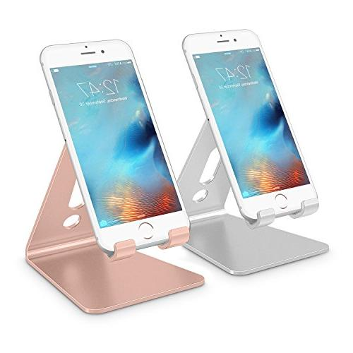Cell Phone Stand, OMOTON Desktop Cellphone Stand Tablet Sta