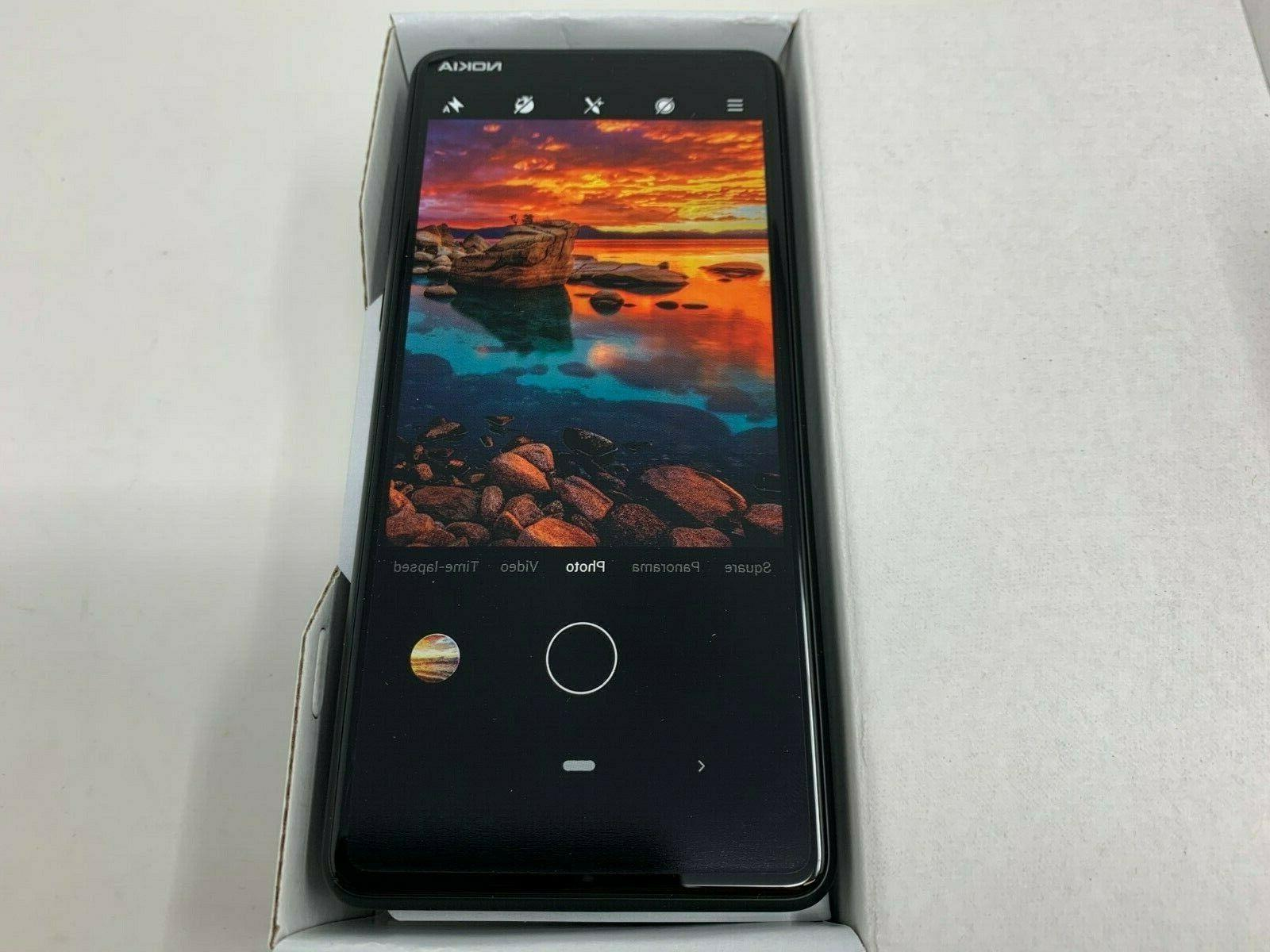 Nokia 3.1 AT&T GSM Unlocked 32GB Android Black New
