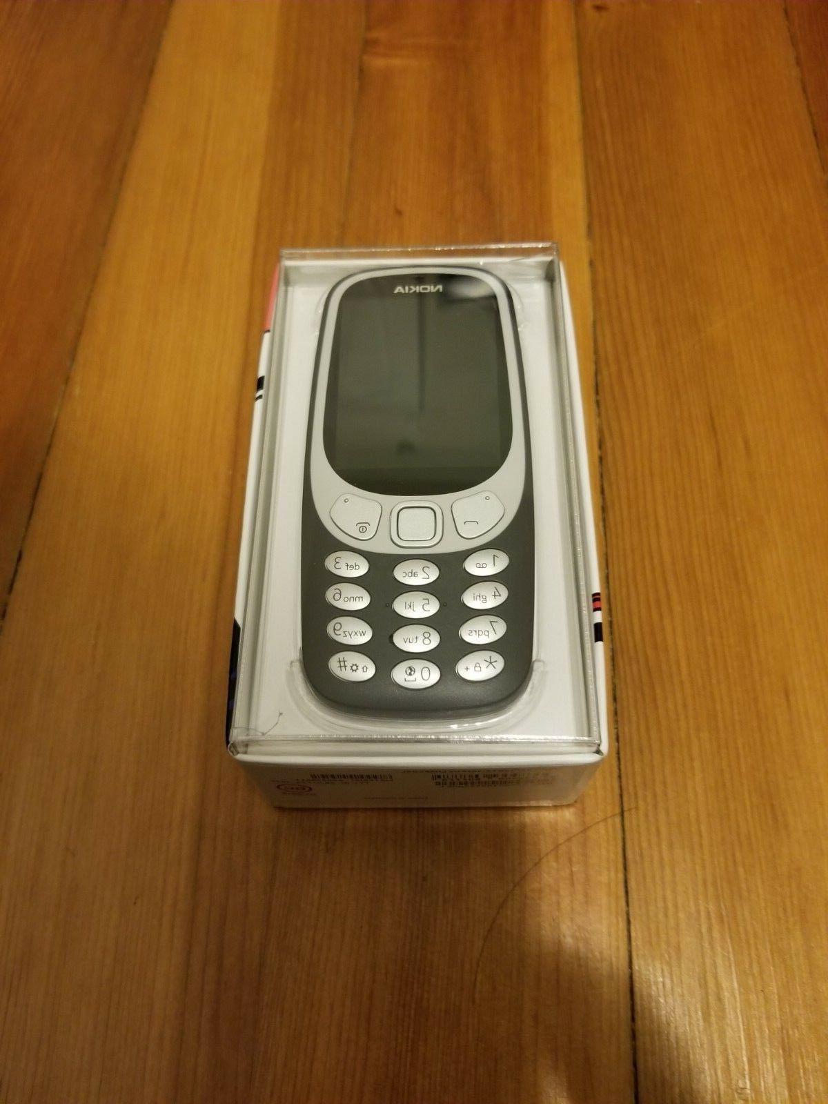 NOKIA 3310 3G - Unlocked - Charcoal