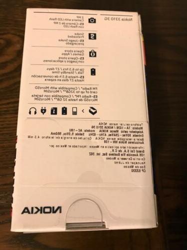 Nokia 3310 3G Phone TA-1036 Unlocked